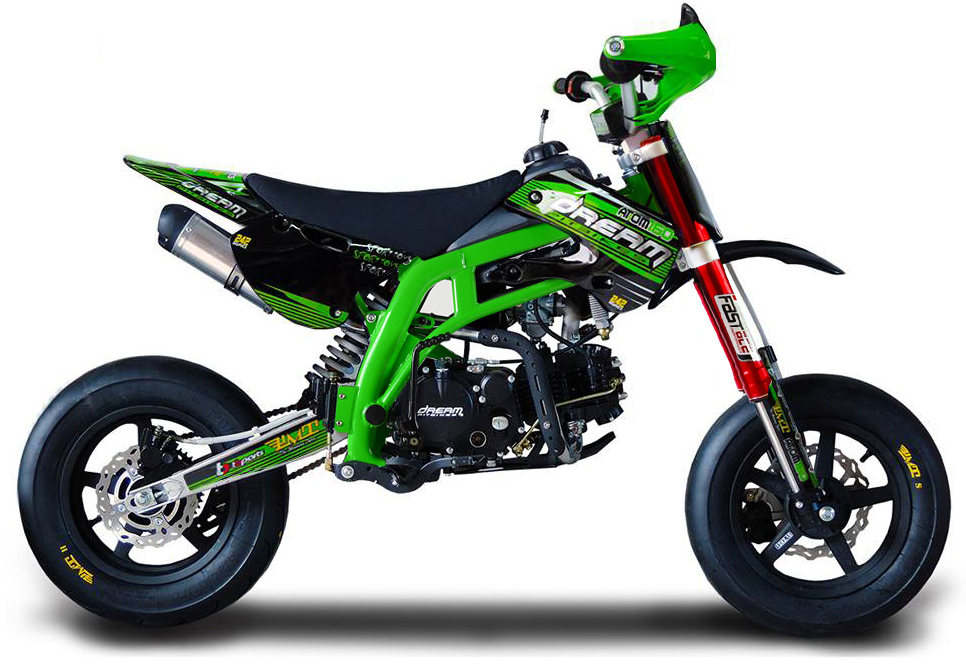 pitbike atom zs155 pro l e motard sport. Black Bedroom Furniture Sets. Home Design Ideas