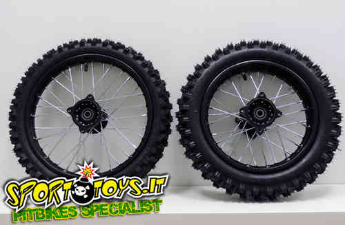 "PITBIKE KIT CROSS COMPLETO 14"" + 12"""