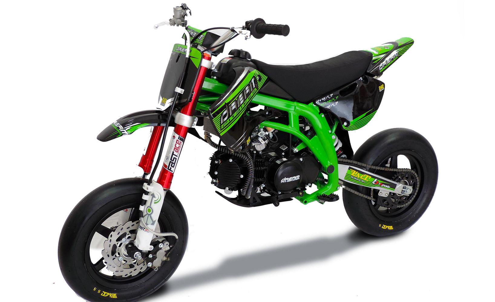 Pit Bike Minimotard Dream Atom Zs177 Pro Limited Edition