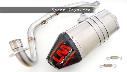 LM PITBIKE EXHAUST SYSTEM - CRF OR KLX
