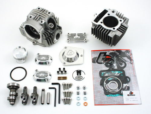 TB PARTS BIG BORE 114cc + KIT TESTA V2 PER MOTORI 88 e 110cc